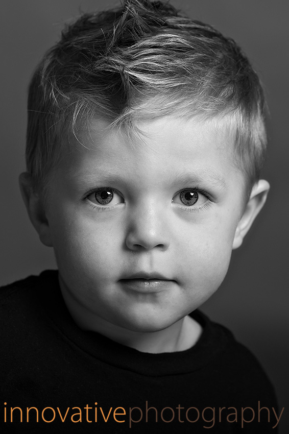 portrait of a cute little boy by ryan christensen and innovativephotography.net