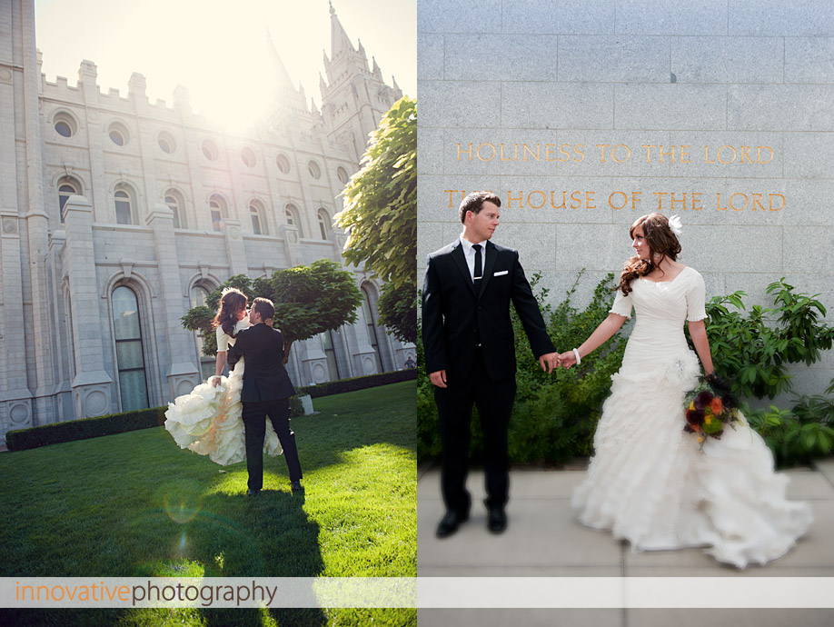 Utah Wedding Photography by Innovative Photography